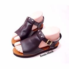 Spesifikasi Wk Fashion Sandal Wanita Platform Black Yang Bagus