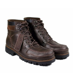 Harga Wolf Rottweileir Safety Sepatu Boots Pria Safety Shoes Stel Toe Paling Murah