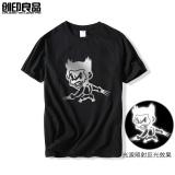 Toko Wolverine Film Zhou Bian Lengan Pendek T Shirt Hitam Yang Bisa Kredit