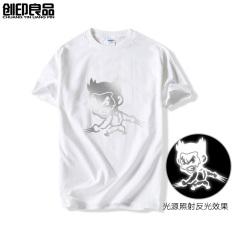 Wolverine Film Zhou Bian Lengan Pendek Kaus (Putih)