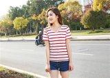 Diskon Besarwoma Fashion Bulat Leher Lengan Pendek Wanita Intl