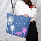 Jual Woman Canvas Dandelion Boho Tote Zipper Purse Fashion Shoulder Handbag Bag Intl Online Tiongkok