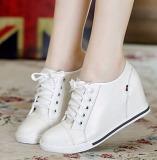Dimana Beli Fashion Wanita Tersembunyi Baji Hak Sepatu Kasual Renda Up Ukuran 32 40 Oem