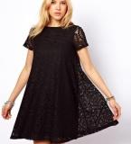 Beli Wanita Lace Floral Slim A Line Dress Intl Pake Kartu Kredit