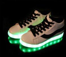 Jual Wanita Pria Lampu Led Renda Bercahaya Sepatu Olahraga Sepatu Sepatu Casual Murah Tiongkok