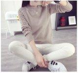 Harga Wanita Autum Winter Sweater Korea Vintage Twist Round Leher Lengan Panjang Rajutan Pullover Sweater Khaki Intl Baru Murah
