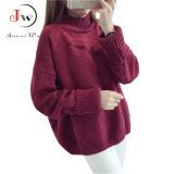 Beli Wanita Musim Gugur Musim Dingin Turtleneck Sweater Batwing Lengan Pullover Tebal Knitting Pelompat Tarik Femme Kebesaran Sweter Mantel Anggur Intl Oem Dengan Harga Terjangkau