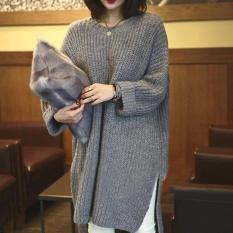 Wanita Musim Gugur Musim Dingin Turtleneck Sweater Lengan Panjang Pullover Tebal Knitting Pelompat Tarik Femme Gratis Ukuran Sweater Wm0053 Grey Intl Tiongkok