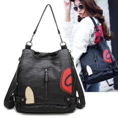 Women Backpack Genuine Goat Leather Casual School Grils Bags Shoulder Bag for Lady