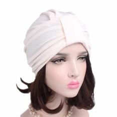 Wanita Kanker Kemo Topi Beanie Syal Serban Kepala Membungkus Cap Wh-Intl 03de9348ad