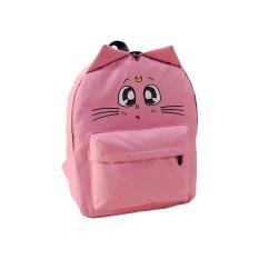 Cara Beli Tas Sekolah Ransel Wanita Ransel Laptop Backpack Cahaya Merah Muda International