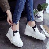 Diskon Sepatu Kasual Wanita Tinggi Tops Breathable Wedges Platform Wanita Musim Gugur Musim Panas Tinggi Tumit Wedge Boots Tiongkok