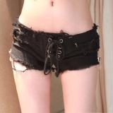 Review Wanita Denim Jeans Shorts Celana Pinggang Rendah Super Mini Pendek Celana Not Specified Di Tiongkok
