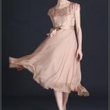 Wanita Elegant Silk Besar Ayunan Slim Gaun Tunik Floral Printing Lengan Pendek Plus Ukuran Lady Dress Intl Di Tiongkok