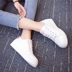 Promo Women Fashion Letter Print Sneakers Women Shoes Low Top Sneakers Shoes Intl Di Tiongkok
