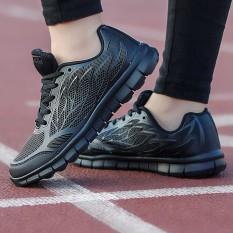 Iklan Women Fashion Outdoor Sneakers Women Breathable Sneakers Lace Up Shoes Kasut Wanita Intl