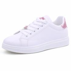 Toko Women Fashion Red Lips White Sneakers Shoes Female Outdoor Sports Flat Sneakers Shoes Intl Terlengkap Di Tiongkok
