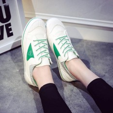 Harga Women Fashion Star Sneakers Shoes Women White Outdoor Comfortable Sneakers Intl Asli Oem