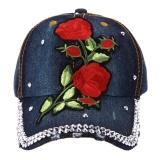 Spesifikasi Topi Kilas Balik Topi Bisbol Hip Hop Bordir Bunga Berlian Imitasi Wanita Intl Merk Vakind