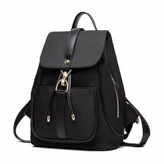 Perempuan Gadis Oxford Fabric Backpack Shoulder Laptop Fashion Bag Rucksack Intl Tiongkok