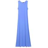 Review Wanita G*Rl S Mini Tanpa Lengan Tombol T Shirt Dress Gaun Panjang Maxi Internasional Terbaru