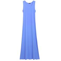 Harga Wanita G*rl S Mini Tanpa Lengan Tombol T Shirt Dress Gaun Panjang Maxi Internasional New