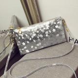 Harga Perempuan Kilau Payet Tas Tangan Tas Pesta Amplop Malam Kopling Dompet Tas Perak Lengkap