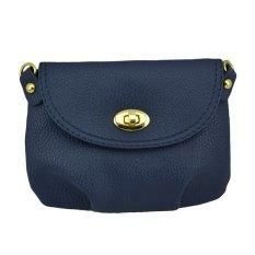 Harga Women Handbag Messenger Bag Small Mini Casual Travel Satchel Purses Darkblue Termahal
