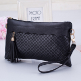 Harga Women Handbag Shoulder Bags Tote Purse Fashion Pu Leather Messenger Hobo Bag Black Asli