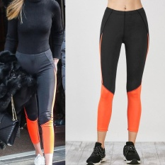 Jual Wanita High Waist Yoga Fitness Legging Menjalankan Gym Stretch Sports Pants Celana Intl Online Tiongkok