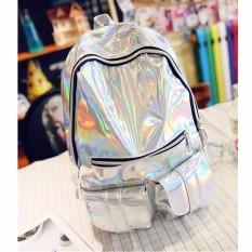 Toko Tas Ransel Wanita Hologram Sinar Gamma Tas Sekolah Tas Sajak Tas Buku Silver A¸ • A¹A¸²A¸ ‡ A¸ A¸ £ A¸ ° A¹ € A¸ A¸¨ Termurah Di Hong Kong Sar Tiongkok