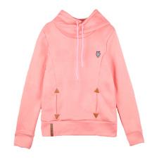 Toko Women Hoodie Sweatshirts Self Tie Pockets Pullover Hooded Loose Tops Intl Oem