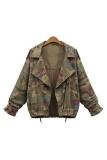 Spesifikasi Women Jackets Cardigans Army Green Zipper Army Green Intl Oem Terbaru