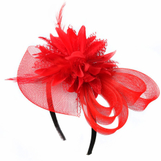 Promo Perempuan Wanita Gadis Pesta Pernikahan Pin Rambut Ikat Kepala Bulang With Hiasan Renda Bunga And Aksesoris Rambut Kulit Merah Internasional Internasional Vococal