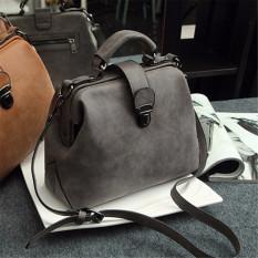 Jual Beli Women Ladies Handbag Shoulder Bag Pu Leather Messenger Bag Satchel Purse Tote Grey Intl Baru Tiongkok