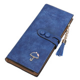 Toko Women Lady Leather Card Holder Long Wallet Clutch Checkbook Tassel Handbag Purse Blue Intl Lengkap Di Indonesia
