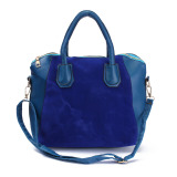Spesifikasi Wanita Kulit Tas Bahu Bag Tas Tangan Wanita Mati Kurir Tas Tubuh Salib Biru Terbaik