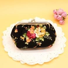 Wanita Wanita Vintage Jaman Dulu Bunga Pengait Dompet Kecil Tas Tangan BK-Intl