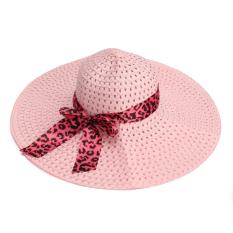 Jual Wanita Wanita Wide Large Brim Cap Musim Panas Hollow Beach Berjemur Jerami Floppy Kecantikan Hat Intl Baru
