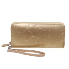 Harga Women Leather Clutch Gold Int One Size Intl Merk Vakind