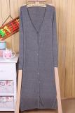 Spesifikasi Wanita Dunia Maya Panjang Baju Maxi Cardigan Abu Abu Gelap Dan Harganya