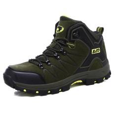 Review Women Men Hiking Shoes Outdoor Trekking Boots Climbing Shoes Sports Rubber Sole Shoes Winter Waterproof Nubuck Intl Oem Di Tiongkok