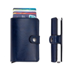 Spesifikasi Wanita Pria Id Pelindung Kartu Kredit Dompet Kulit Pemegang Kartu Paket Kotak Bu Intl Yang Bagus