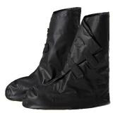 Beli Wanita Men Reusable Rain Cover Untuk Sepatu Anak Waterproof Shoes Covers Boots Hujan Flat Slip Resistant Overshoes Galocha Hitam Ukuran L Intl Kredit
