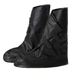 Spesifikasi Wanita Men Reusable Rain Cover Untuk Sepatu Anak Waterproof Shoes Covers Boots Hujan Flat Slip Resistant Overshoes Galocha Hitam Ukuran L Intl