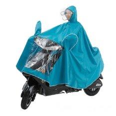 Wanita Pria Unisex Detachable Double Jas Hujan Untuk Motor Motorcycle Raincoat Poncho Electric Single Meningkatkan Penebalan Jas Hujan-Intl By Jacksoo.