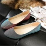 Jual Beli Wanita Ol Slip Pada Loafers Lepas Kilap Sepatu Flat Balet Penari Balet Warna Permen Di Tiongkok