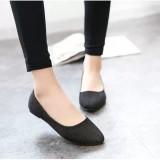 Toko Wanita Ol Slip Her At Loafers Lepas Kilap Sepatu Flat Balet Penari Balet Warna Permen Lengkap Tiongkok