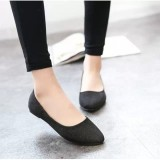 Dapatkan Segera Wanita Ol Slip Her At Loafers Lepas Kilap Sepatu Flat Balet Penari Balet Warna Permen