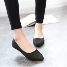 Jual Wanita Ol Slip Her At Loafers Lepas Kilap Sepatu Flat Balet Penari Balet Warna Permen Oem Asli